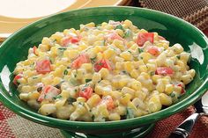 Tangy MIRACLE WHIP Dressing and vanilla yogurt (yes, yogurt!) form a sweet-tart dressing for this delish corn salad. Best part? It preps in 15 minutes!