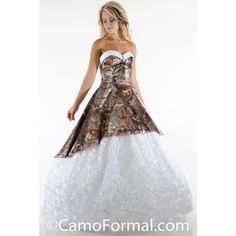 0cd2c0cea9 Contrasting lining can be many satin colors. Sizes Shown in APG Realtree  and White. Available in all camo patterns and many satin colors. Camo Formal