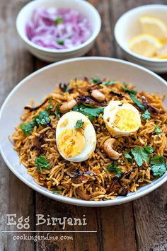 Egg Biryani Recipe - How to Make Egg Biryani Indian-Style - Edible Garden