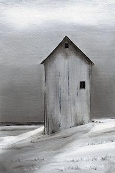 Paula Wallace: Winter Barn