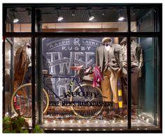 Chalkboard Art | Ralph Lauren #shop #window #store #front #display #merchandise