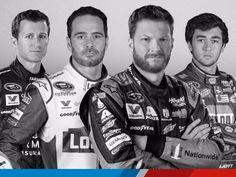 2016 Hendrick Drivers