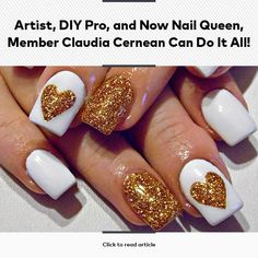 Artist, DIY Pro, and Now Nail Queen, Member Claudia Cernean Can Do It All!