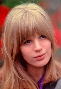 60's hair /// Marianne Faithfull