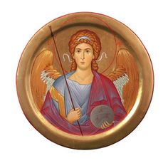 Guardian Angel - Acrylic - Painted Icons - Icons & Crosses…