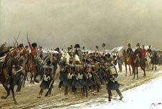 Napoleone acclamato dalla truppa