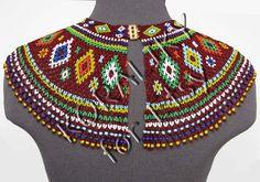 Traditional Lemko Kryza Folk Handmade Beads Beaded by koraliky