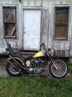 Harley chopper~~GREAT PACKIN SEAT!!! <3