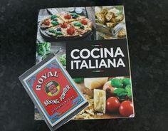 Libreta vintage y cocina italiana