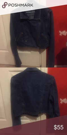 Free people denim jacket Free people denim jacket , lite weight good for fall and spring weather , very trendy to dress up or down . Soft material. Free People Jackets & Coats Jean Jackets
