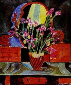 Henri Matisse - Vase of Irises, 1912