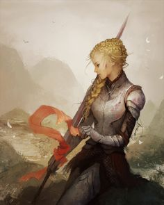 Lady Knight, Janaina Medeiros on ArtStation at https://www.artstation.com/artwork/lady-knight-aac8806e-a833-47ac-9ed8-723b9a03a7d5