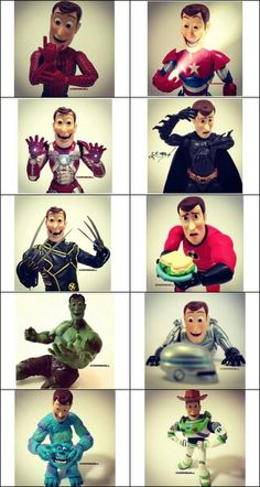 Woody would be the best super hero ever!!!