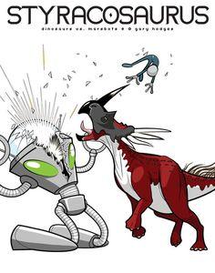 STYRACOSAURUS (Dinosaurs vs. Marsbots)