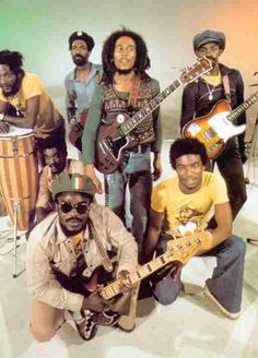 This group of young men created a sound and took over the world all coming from one of the poorest places on earth. Robert, Peter, and Bunny and can't forget Marcia,Judi,and Rita...Reggae Reggae