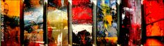 mixed-media painting/sculpture 'SEVEN OF SEVEN' c/girard louis drouillard