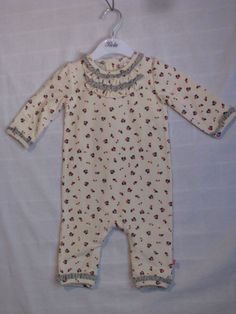 Baby Girl Size 000,00,0 Bebe Winter Floral Romper Without Feet NWT   eBay