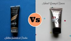 Stay Up With Makeup!: Due fondi bio a confronto: Sublime di Purobio vs Natural Creamy Makeup di Benecos.