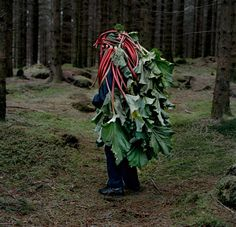 """""""Eyes as Big as Plates"""", a photo series by Riitta Ikonen and Karoline Hjorth inspired by Norwegian folklore. Kitsch, Charles Freger, Foto Fun, Les Religions, Photo Series, Green Man, Green Life, Folklore, Ikon"""