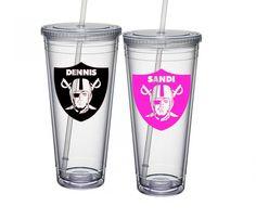 Oakland Raiders Tumbler, Las Vegas Raiders, Oakland Raiders Gift, Raider Nation, Oakland Raiders Fan, Oakland Raiders Cup, Fathers Day Gift by BlueKitty2000 on Etsy