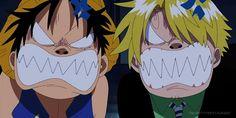 Luffy Sanji