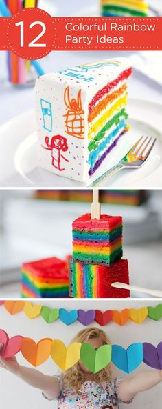 Check out these 12 Colorful Rainbow Party Ideas for Kids! Our Hefty® Ultimate™ Easy Grip® Cups will stick with your color theme while making entertaining easy!