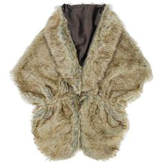 Brown Solid Faux Fur Plush Shawl Wrap Satin Lining ($40) ❤ liked on Polyvore featuring accessories, scarves, brown, fake fur shawl, long shawl, oblong scarves, long scarves and faux fur shawl