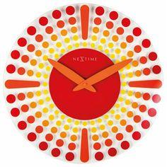 Nextime Wanduhr  8182ro versandkostenfrei, 100 Tage Rückgabe, Tiefpreisgarantie, nur 51,00 EUR bei Uhren4You.de bestellen