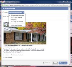 How to Share Your Listings on Social Media