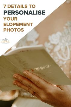 Small elopement details that can really personalise your day Elopement Inspiration, Intimate Weddings, You Must, Alps, Connection, Wedding Planning, Wedding Day, How To Plan, Detail