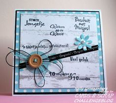 Baby Cards, Scrap, Baby Boy, Challenges, Paper, Handmade Cards, Frame, Crafts, Craft Cards