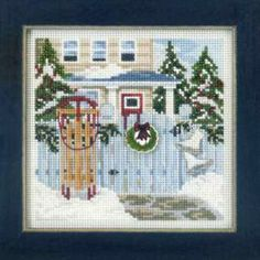 MILL HILL WINTER HOLIDAY BEADED CROSS STITCH KITS CHOOSE ONE