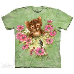 The Mountain Curious Little Kitten T-Shirt