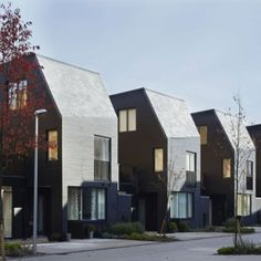 really miss this kind of suburban landscape....South Chase housing by  Alison Brooks Architects