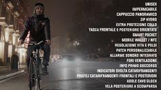 JUNGLE JACKET La prima giacca al mondo per il ciclista urbano