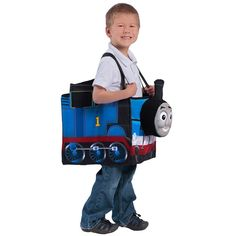 Thomas the Tan Ride in Train Child Costume