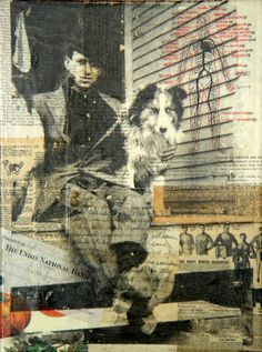Mixed-Media and Collage / Porch Boys Collages, Collage Artists, Mixed Media Photography, Art Photography, Mix Media, Collage Portrait, Portraits, Flower Collage, Social Art