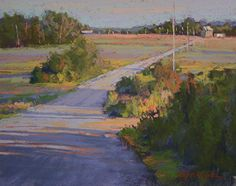 """The Journey Never Ends by Barbara Jaenicke Pastel ~ 8"""" x 10"""""""