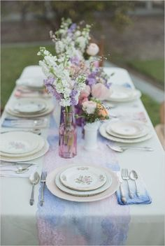 Mise en place acquerello | Watercolor table setting | Watercolor Wedding Inspiration http://theproposalwedding.blogspot.it/ #watercolor #wedding #inspiration #summer #acquerelli #matrimonio #estate