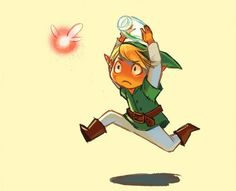 Catch it!!!! #Link #Zelda #gaming #videogames