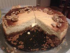 Walnuts cheesecake.  http://www.mojewypieki.com/przepis/sernik-orzechowy