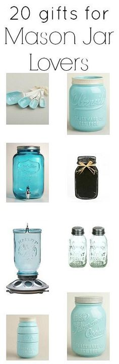 Gifts for Mason Jar Lovers - * THE COUNTRY CHIC COTTAGE (DIY, Home Decor, Crafts, Farmhouse)