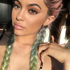 Kylie Jenner's Coachella braids are giving us some serious hair inspiration.