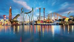 Islands of Adventure - Orlando   5-stars for fun!!!
