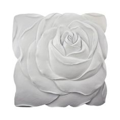 White Rose Wall Sculpture from Target