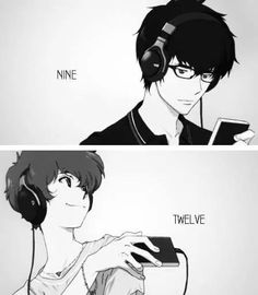 Terror in Resonance ~~ I need a good mnemonic device for these guys' names... ::  Nine and Twelve