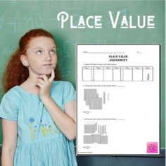 Place Value Math Assessment by Innovative Teacher Math Assessment, Math Workshop, Place Values, Test Prep, Elementary Math, Math Resources, Teaching Tips, Math Lessons, Pin Up