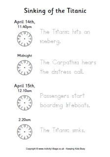 Titanic Worksheets Tutors, Worksheets and more at: www.TutorFrog.com/worksheets-wyzant