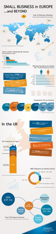 Small Business - Infographic