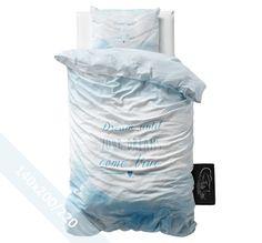 Sleeptime Dekbedovertrek - Dream - Blauw - 140x220 cm